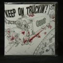 OVER THE TOP - keep on truckin (7inch)
