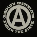 abolish capitalism- smash the state - Aufnäher