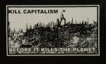 kill capitalism before it kill the planet - Aufnäher